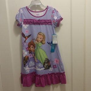 NWT Disney Sophia the First nightgown 5/6